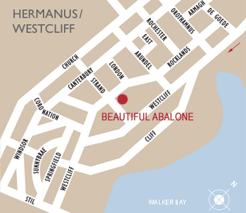 Map of Hermanus/ Westcliff area